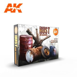 """AK Interactive AK Interactive - 3rd Gen. Acryl. Set """"Rust and abandoned"""""""