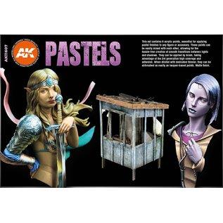 """AK Interactive 3rd Gen. Acryl. Set """"Pastels Colors"""""""