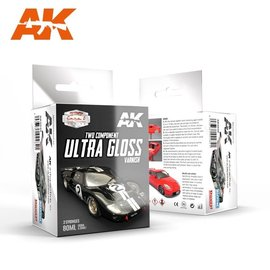 AK Interactive AK Interactive - Ultra Gloss Varnish - 2K-Klarlack, hochglänzend