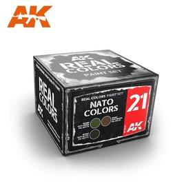 AK Interactive AK Interactive - Real Color Set - NATO Colors