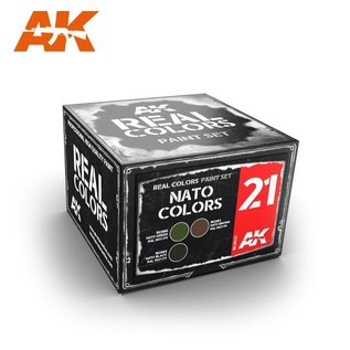 AK Interactive Real Color Set - NATO Colors
