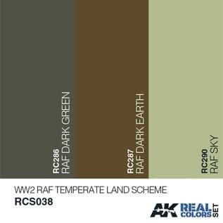 AK Interactive Real Color Set - RAF Temperate Land Scheme