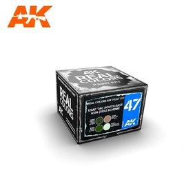 AK Interactive AK Interactive - Real Color Set - USAF TAC South East Asia (SEA) Scheme