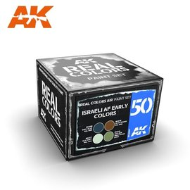AK Interactive AK Interactive - Real Color Set - Israeli AF Early Colors