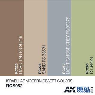 AK Interactive Real Color Set - Israeli AF Modern Desert Colors