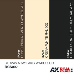 AK Interactive Real Color Set - German Army Early WWII Colors Set