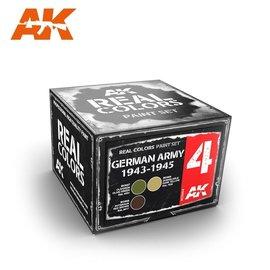 AK Interactive AK Interactive - Real Color Set - German Army 1943-1945 Set