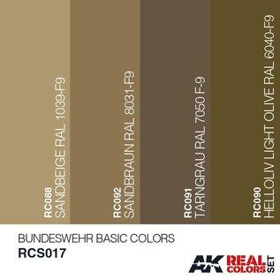 AK Interactive Real Color Set - Bundeswehr Basic Desert Colors