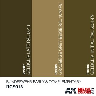AK Interactive Real Color Set - Bundeswehr Early & Complementary