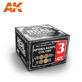 AK Interactive AK Interactive - Real Color Set - Afrika Korps Colors Set