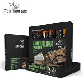 Abteilung 502 Abteilung 502 - Ölfarben-Set - Leather and Wood Colors