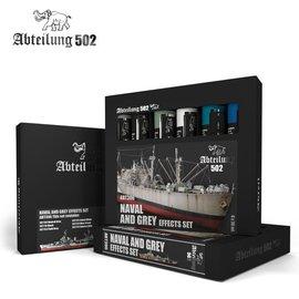 Abteilung 502 Abteilung 502 - Ölfarben-Set - Naval and Grey Effects Colors