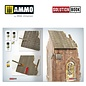 AMMO by MIG How to Paint Brick Buildings. Colors & Weathering System Solution Book (Multilingual)