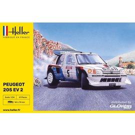 Heller Heller - Peugeot 205 EV2 - 1:24