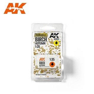 AK Interactive Birch autumn / Birken-Herbstlaub