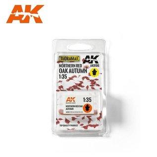 AK Interactive Northern red oak autumn / Roteichen-Herbstlaub