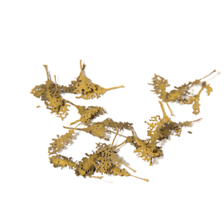 AK Interactive Oak dead leaves / Eichenblätter verrottet