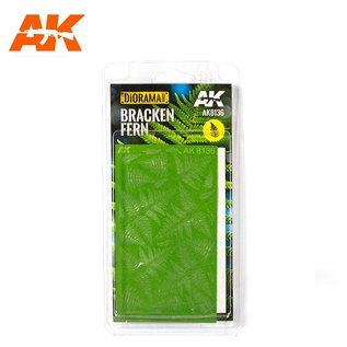 AK Interactive Bracken Fern / Adlerfarnblätter 1:32 & 1:35