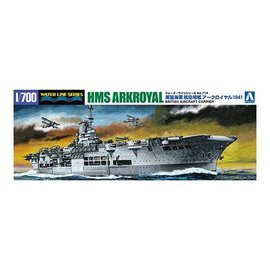 Aoshima Aoshima - HMS Ark Royal 1941 - Waterline No. 714 - 1:700