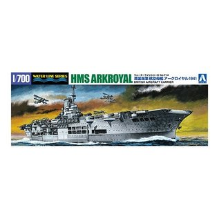Aoshima HMS Ark Royal 1941 - Waterline No. 714 - 1:700
