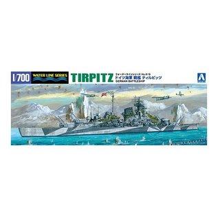 Aoshima Dt. Schlachtschiff Tirpitz - Waterline No. 719 - 1:700