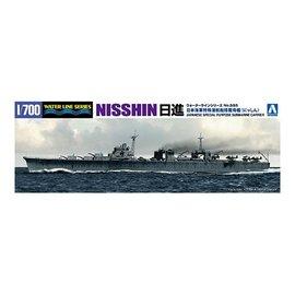 """Aoshima Aoshima - Special purpose submarine carrier """"Nisshin"""" - Waterline No. 555 - 1:700"""