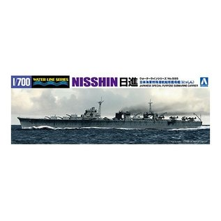 "Aoshima Special purpose submarine carrier ""Nisshin"" - Waterline No. 555 - 1:700"