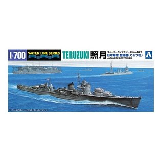Aoshima I.J.N. Destroyer Teruzuki - Waterline No. 427 - 1:700