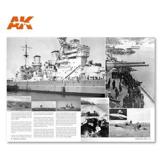 AK Interactive Modelling full ahead 3 - Bismarck & Tirpitz