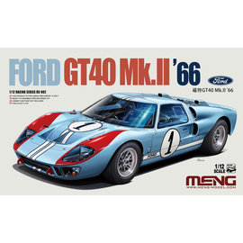 MENG Ford GT40 Mk.II '66 - 1:12
