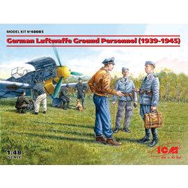 ICM ICM - Bodenpersonal der Deutschen Luftwaffe 1939-45 - 1:48