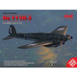 ICM ICM - Heinkel He 111H-3 WWII German Bomber - 1:48