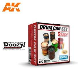 AK Interactive Doozy! - Drum Can Set - 1:24