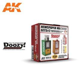AK Interactive Doozy! - Newspaper Machine Sets#2 - 1:24