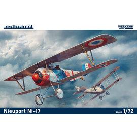 Eduard Eduard - Nieuport Ni-17 Weekend Edition - 1:72