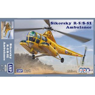 AMP Sikorsky R-5/S-51 Ambulance - 1:72