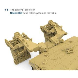 MENG Israeli Main Battle Tank Merkava Mk.4/4LIC w/Nochri-Kal Mine Roller System - 1:35