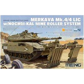 MENG MENG - Israeli Main Battle Tank Merkava Mk.4/4LIC w/Nochri-Kal Mine Roller System - 1:35