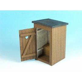 EUREKA XXL Eureka - Country Toilet (Outhouse) - 1:35