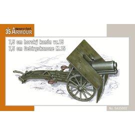 Special Armour Special Armour - österr. 7,5cm Gebirgskanone M.15 - 1:35