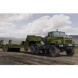 HobbyBoss Hobby Boss - Russian KrAZ-260B Tractor with CMAZ/ChMZAP-5247G semitrailer - 1:35