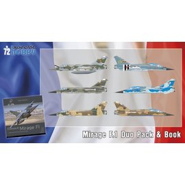 Special Hobby Special Hobby - Dassault Mirage F.1 Duo Pack & Book - 1:72