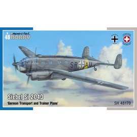 Special Hobby Special Hobby - Siebel Si 204D German Transport and Training Aircraft - 1:48