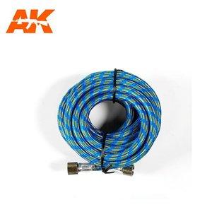 AK Interactive Airbrush Luftschlauch 2x 1/8''-Anschluß - 3m