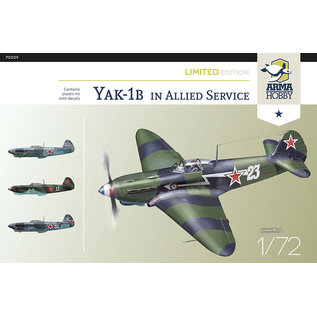 Arma Hobby Yak-1b Allied Fighter Limited Edit. - 1:72