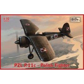 IBG Models IBG - PZL P.11c - Polish Fighter - 1:32