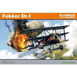 Eduard Eduard - Fokker Dr. I - Profipack - 1:72