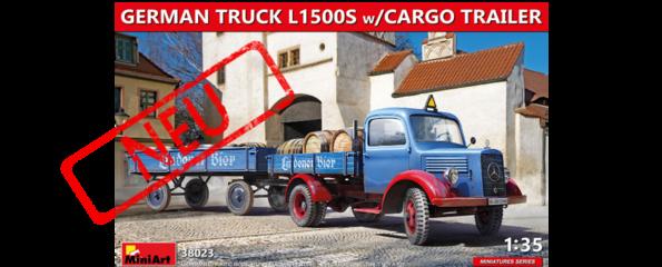 L1500 mit Anhänger