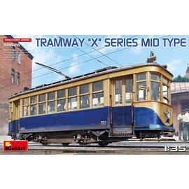 """MiniArt MiniArt - Soviet Tramway """"X"""" Series Mid type - 1:35"""