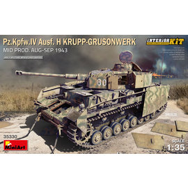 MiniArt MiniArt - Pz.Kpfw.IV Ausf. H - Krupp Grusonwerk Mid Prod. Aug. - Sept. 1943 - 1:35